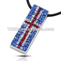 2012 London Olympic Crystal Pendant Jewelry ,Union Jack Jewelry