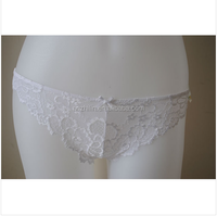 Girls Exquisite Lace Microfiber Panty Brief