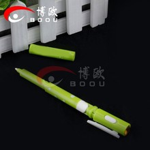 Top Quality Customized Logo led pen light with clip ,led flashing pen for men for writing