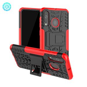 Para samsung A60 carcaça do telefone móvel completa de 360 graus caso capa com kickstand para samsung A60
