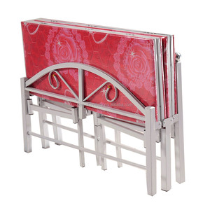 Hospital fold bed manufacturer with factory supply cheap price