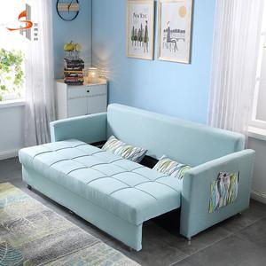 Foshan usine accepter personnalisé 3 places pli canapé-lit mécanisme meubles