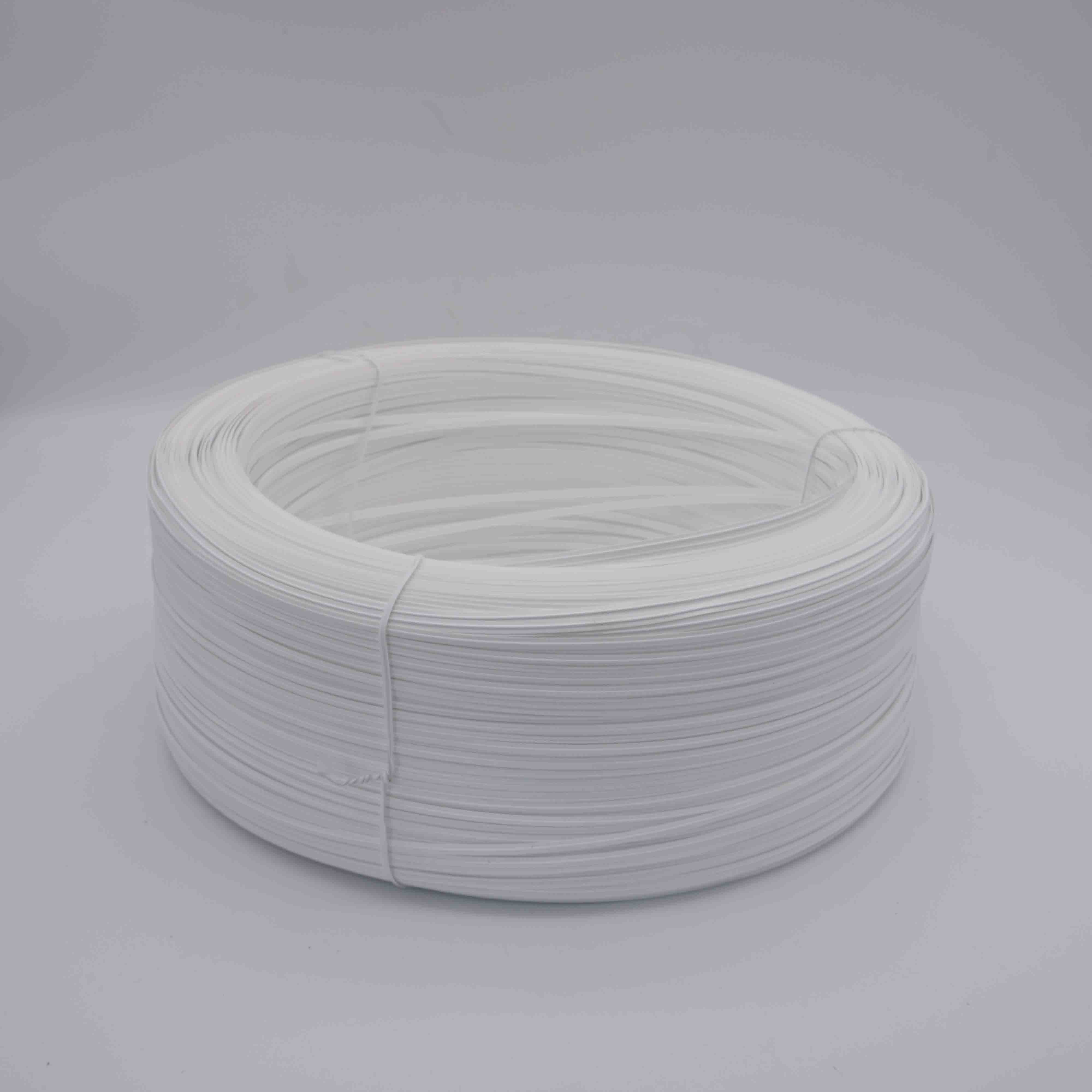 Рекламные PE оцинкованной стали 4 мм/5 мм двойной сердечник пластиковый зажим для носа с хорошей ценой