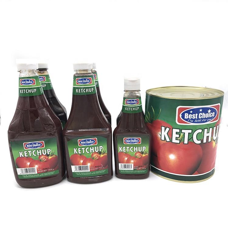 Usine de pâte de tomate 795g ketchup à dubaï