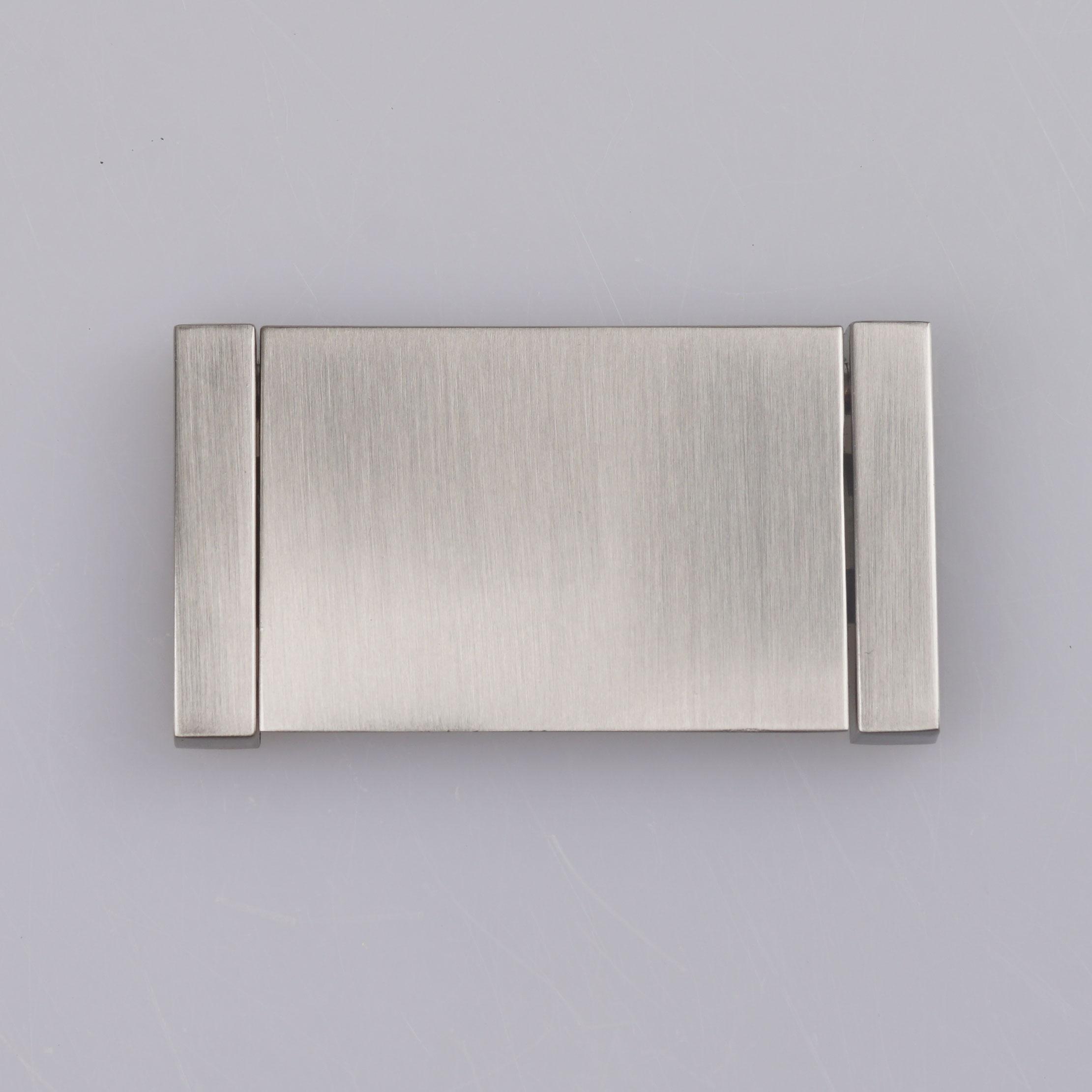 고품질 Hafele 현대 Recessed 플러시 금속 손잡이 브러쉬 니켈