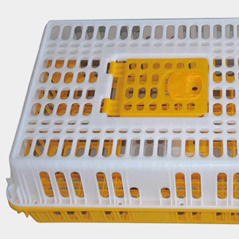 Durable Turquía caja de transporte pato de plástico de aves de corral pollo jaula de transporte