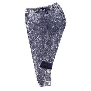 2019 yeni moda gevşek takım elbise tüm mevsim mermer mavi kot pantolon erkek kot pantolon