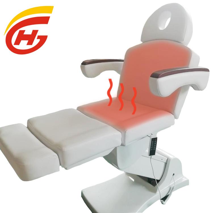 Ganzhou möbel elektrische kosmetische bett thermische massage bett heizung gesichts tabellen