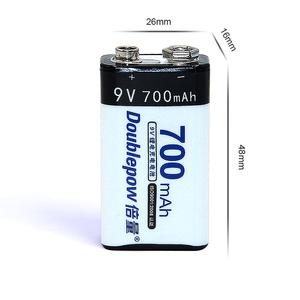 Super Power 700 MAh 9V Pin USB Lithium Ion Có Thể Sạc Lại Pin Với Hiệu Suất Ổn Định
