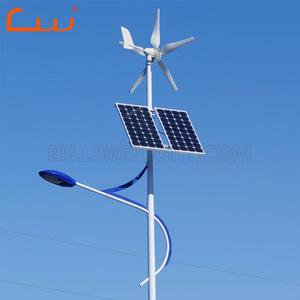هلام البطارية 30W الطاقة الشمسية الصمام شارع مصابيح طاقة الرياح مولد