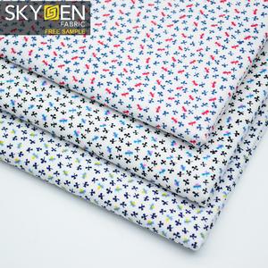 Skygen 高品質地織ソフトの印刷ハイチ guatemalan ハワイ 97 綿 3 スパンデックス生地の伸縮布