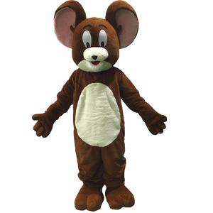 Hola disponible ratón traje de la mascota/película trajes de la mascota para adultos