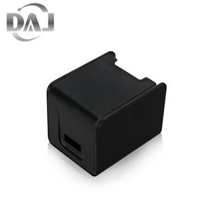 2020 novo Fabricante de Cor Personalizada ABS/PP Plástico Preto Habitação/Shell Para Carregador USB