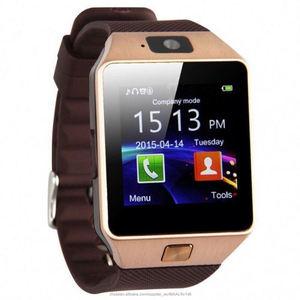 Индивидуальные Логотип A1 Смарт часы новое поступление 2018 Смарт часы SIM телефон DZ09 GT08 X6 M3