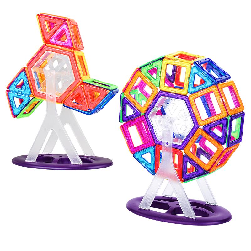 Tige enfants outils Éducatifs 3D puzzle DIY Aimant Connexion Magnétique Blocs de Construction bébé Jouets
