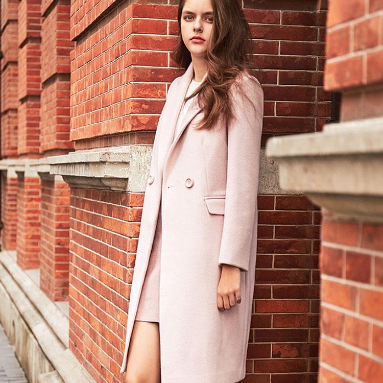 Noël fabriqué en chine en gros dames bureau laine thermo dernières conceptions de manteau pour les femmes