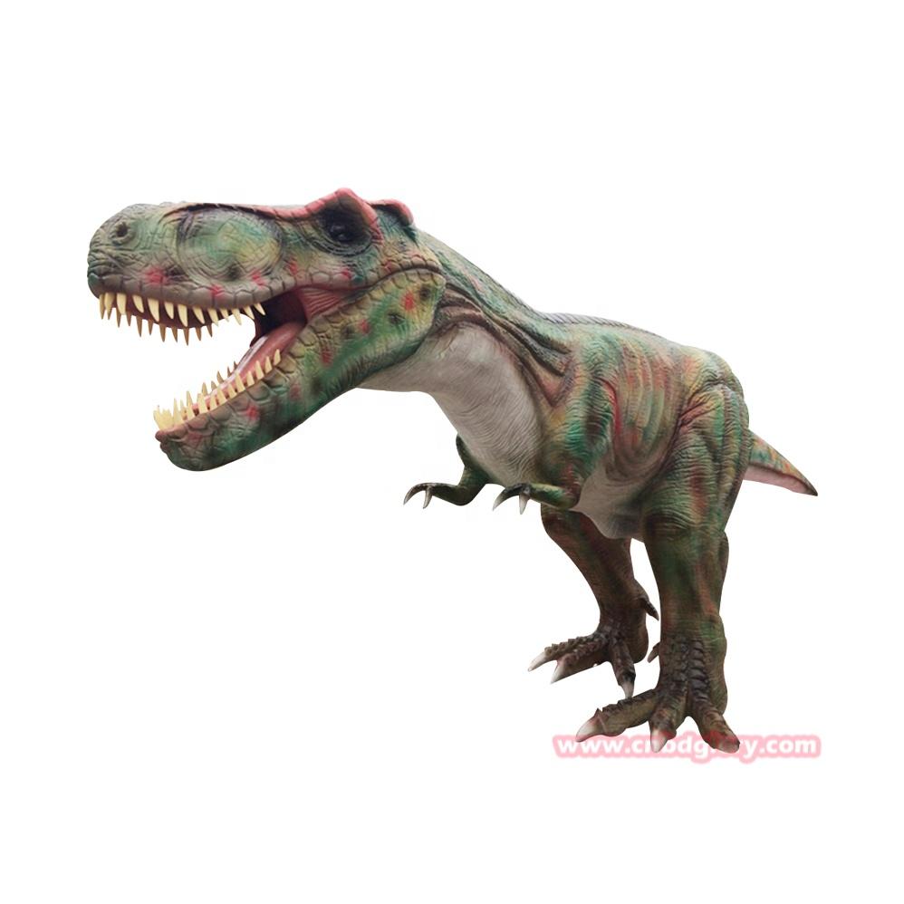 Jurassic <span class=keywords><strong>T</strong></span>-<span class=keywords><strong>Rex</strong></span> dinozor animatronic eğlence parkı süslemeleri
