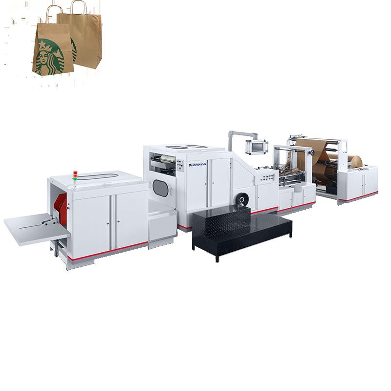 Saco de papel kraft que faz a máquina vai participar da CHINA IMPRESSÃO 2017