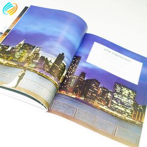 Известный поставщик Билли меню буклет брошюра листовка каталог книга журнал печати компаний