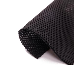 Poliéster/Nylon 3D espaciador aire negro de malla de tela para zapatos asiento de tela de filtro de silla de oficina de malla
