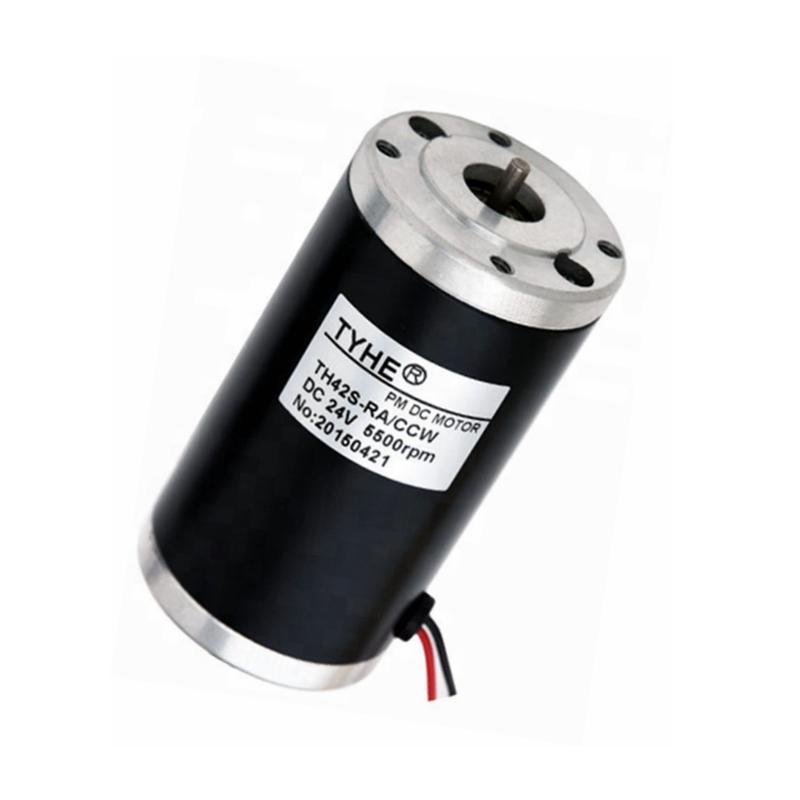 عالية الدقة منخفضة رد فعل عنيف D42MM 12v 36 فولت عالية السرعة 3000rpm المحرك الكهربائي للتيار المباشر للجمال جهاز