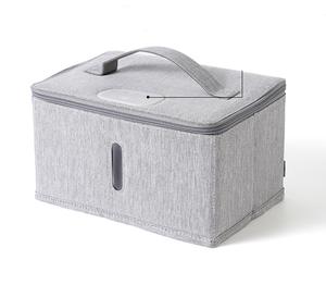 휴대용 여행 UV 살균기 가방 LED 소독 보관 가방 속옷 아기 병 장난감 건조 열 살균기