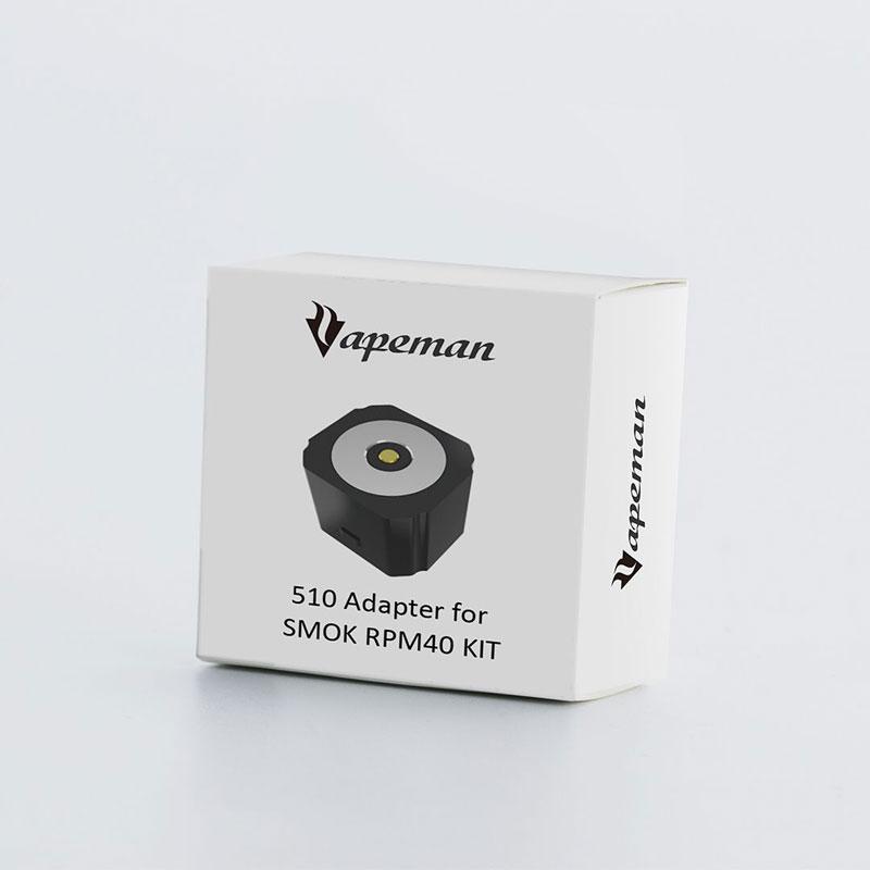 Vapeman 510 Adaptateur pour Smok RPM40, Voopoo Vinci/Vinci X Équipée Tout 510 Fil Atomiseur