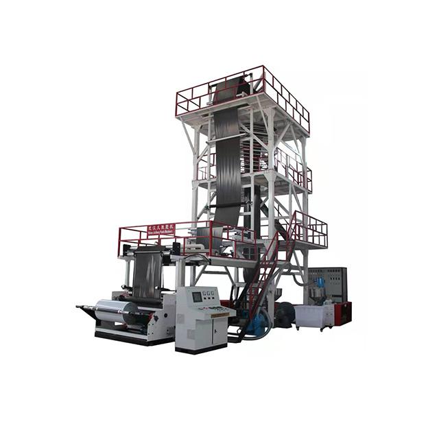 Пластиковые мини-тип пластиковые выдувные пленки экструзионная машина пленка выдувная печатная машина