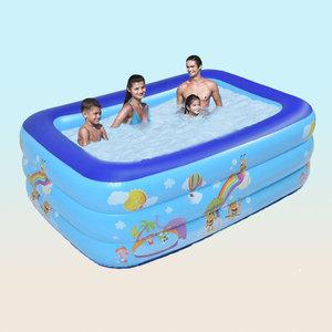 Umut verici çocuk bebek taşınabilir plastik yüzme havuzları açık su havuzu pvc şişme yüzme havuzu aksesuarları