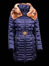 Abrigo de invierno de plumas abrigo gordo para mujeres modelo VICTORIA