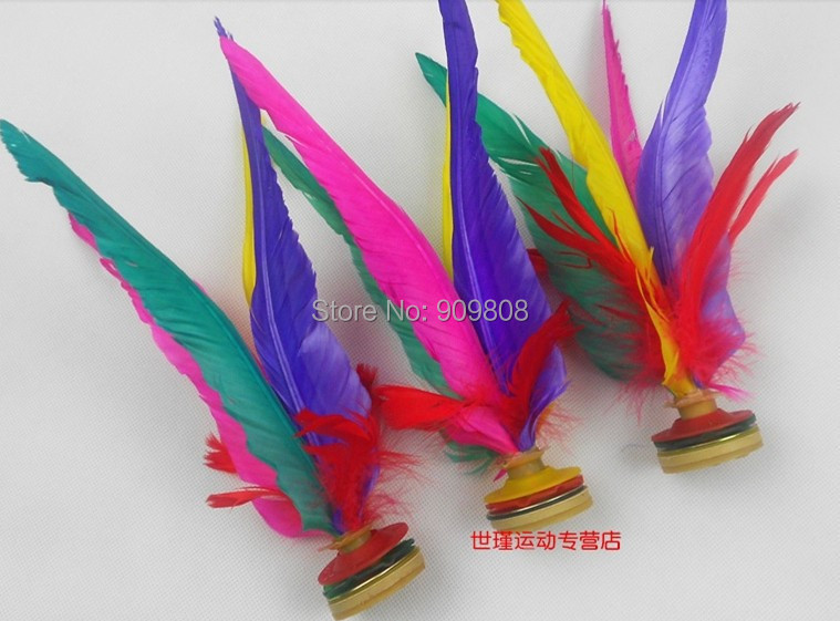 Patada transporte gallo plumas de colores juego chino for A href text decoration
