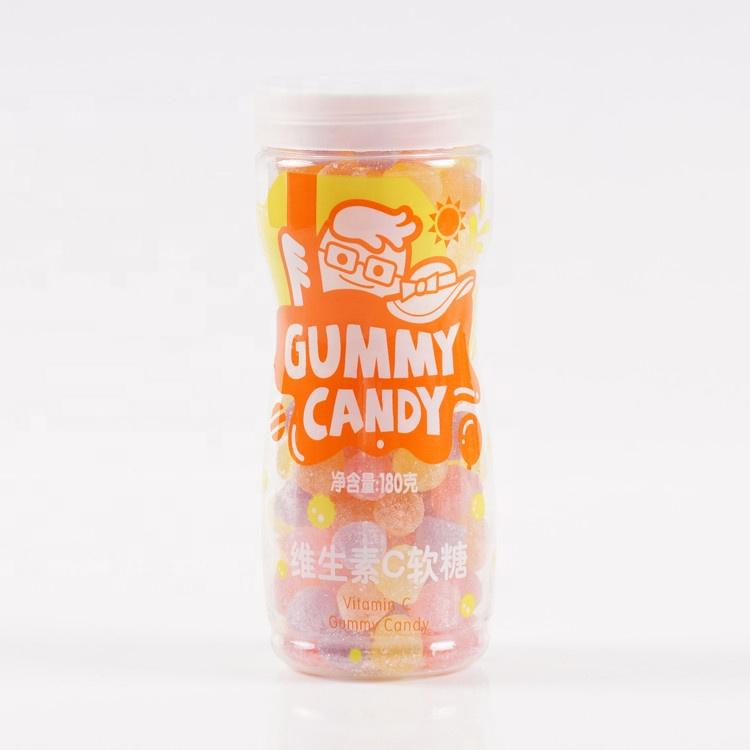 Индюшата Bonbon здоровая еда функциональная Gummy пектин витамин C Манго Ароматизированные <span class=keywords><strong>желе</strong></span> конфеты