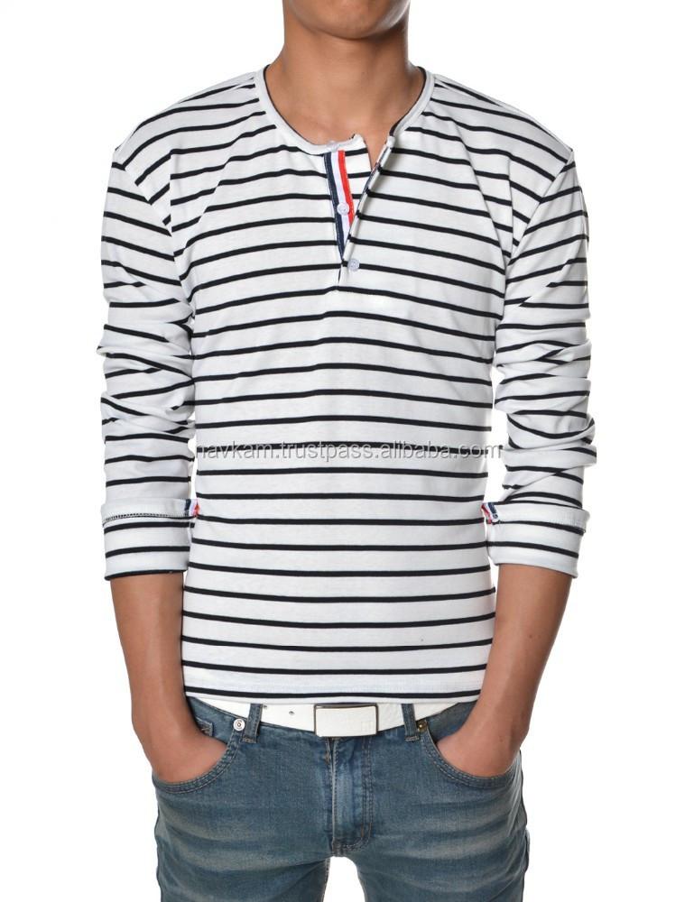 New arrival wholesale men long sleeve t shirt design front for Long sleeve t shirts design