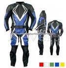 Moto racing suit, genuine couro terno
