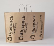 JUMBO brown - innovative eco paper carrier bag