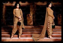 indian heavy bridal salwar suit/ designer suit with embroidered dupatta/exclusive kurta with patiala bottom