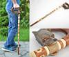 Handmade stylish wooden support cane designer beautiful men accessory Wolf