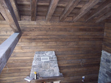 Italian wooden ceilings - Antiques - Reproduction - Lacquered - Decorated - Beam ceiling