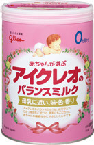 baby diapers manufacturers glico icreo balance milk milk powder