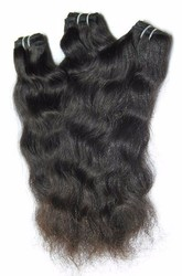 Natural Wave Triple Stitched 100% Natural Human Hair Weaves (Machine Wefted)