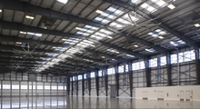pre fabricated pre engineered steel air craft hangar