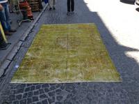 turkish kilim hand made patchwork overdeyed