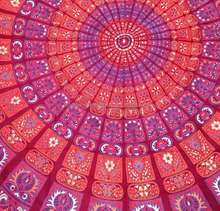Mandala Wall Hanging Hippy Bohemian Tapestries tightly loomed fabric wall decor.