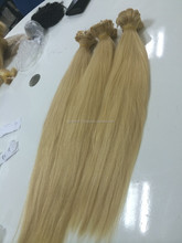 same direction, 100% raw remy human hair bulk extension best quality blond color