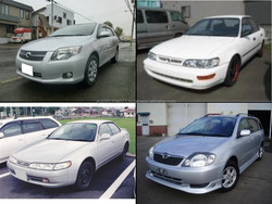 Reliable and Japanese toyota x corolla used cars for irrefrangible accept orders from one car