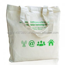Eco bags Recycled Cotton Canvas Tote Bag From Profasional Manufacturer in Viet Nam