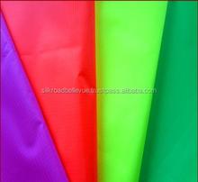 Eco-friendly fluorescent ripstop nylon fabric