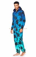 mens sublimation onesies jumpsuit Custom Adult Onesie/Unisex Sexy Adult Onesie/Couple Onesie Wholesale