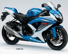 SUZUKI GSX R750 MOTORCYCLE