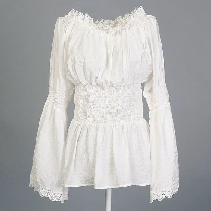 White Blouse Dress 41
